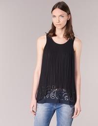Textiel Dames Tunieken Desigual TUDURIA Zwart