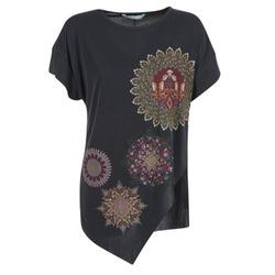 Textiel Dames Tunieken Desigual GRIZULLO Zwart