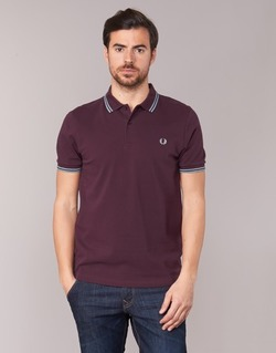 Textiel Heren Polo's korte mouwen Fred Perry TWIN TIPPED FRED PERRY SHIRT Violet