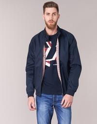 Textiel Heren Wind jackets Ben Sherman HARRINGTON Marine