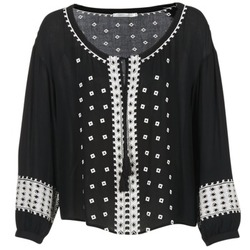 Textiel Dames Tops / Blousjes See U Soon 7117029 Zwart
