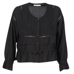 Textiel Dames Tops / Blousjes See U Soon 7113001 Zwart
