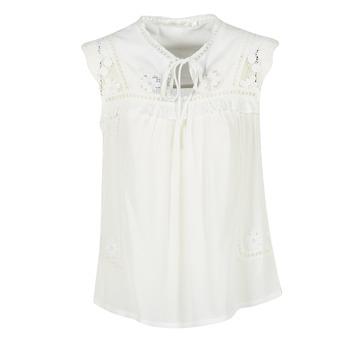 Textiel Dames Tops / Blousjes See U Soon 7116203 Wit