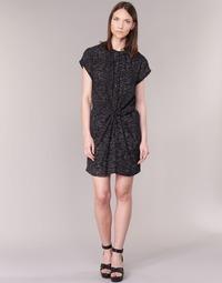 Textiel Dames Korte jurken See U Soon 7121114 Zwart