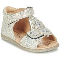 Schoenen Meisjes Sandalen / Open schoenen Babybotte TUTU Zilver