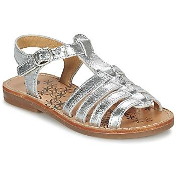 Schoenen Meisjes Sandalen / Open schoenen Babybotte YLONA Zilver