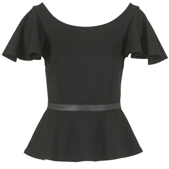 Textiel Dames Tops / Blousjes Diesel T SONAI Zwart