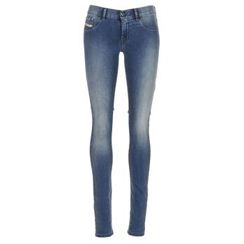 Textiel Dames Skinny jeans Diesel LIVIER Blauw / 0679e