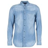 Textiel Heren Overhemden lange mouwen Diesel D CARRY Blauw