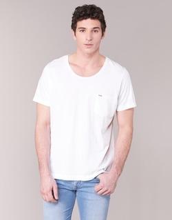 Textiel Heren T-shirts korte mouwen Diesel T KRONOX Wit