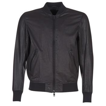 Textiel Heren Leren jas / kunstleren jas Diesel L POWELL Zwart