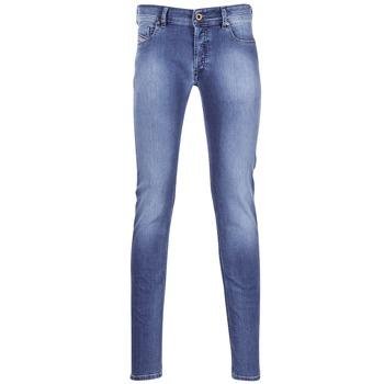 Textiel Heren Skinny jeans Diesel SLEENKER Blauw / 0681N