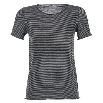 Textiel Dames T-shirts korte mouwen Casual Attitude GENIUS Marine