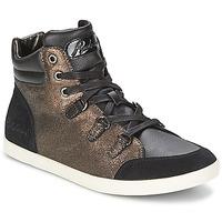 Schoenen Dames Hoge sneakers Redskins CADIX Zwart / Brons