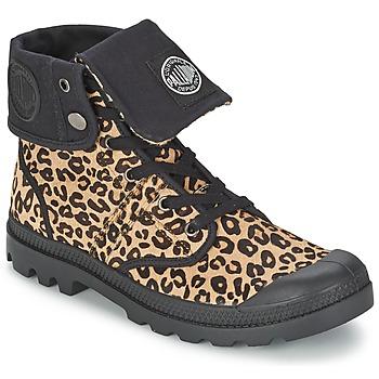 Schoenen Dames Laarzen Palladium BAGGY PN Leopard