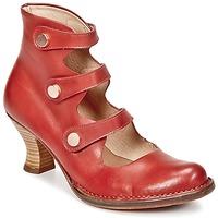 Schoenen Dames Enkellaarzen Neosens ROCOCO Rood
