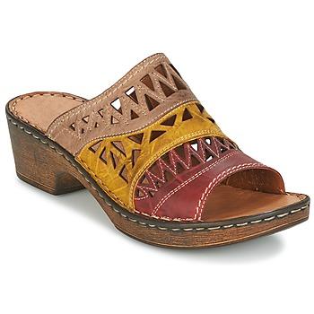 Schoenen Dames Leren slippers Josef Seibel REBECCA 43 Multicolour
