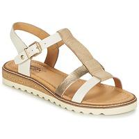 Schoenen Dames Sandalen / Open schoenen Pikolinos ALCUDIA W1L Zilver