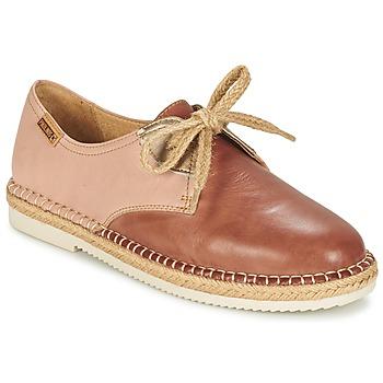 Schoenen Dames Derby Pikolinos CADAMUNT W3K Brown