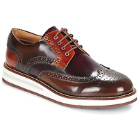 Schoenen Heren Derby Barleycorn AIR BROGUE Brown / Bordeaux