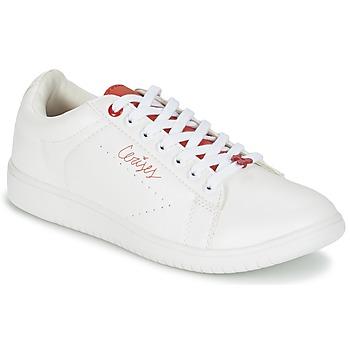 Schoenen Dames Lage sneakers Le Temps des Cerises SACHA Wit