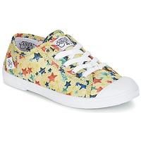Schoenen Meisjes Lage sneakers Le Temps des Cerises BASIC 02 Geel