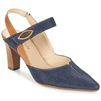 Schoenen Dames pumps France Mode PASTEL SE TA Brown / Blauw