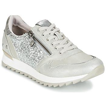Schoenen Dames Lage sneakers Mustang VENFIN Zilver