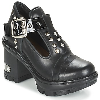 Schoenen Dames Low boots New Rock DEZDO Zwart