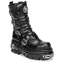 Schoenen Dames Laarzen New Rock NEMESIS Zwart