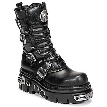 Schoenen Laarzen New Rock NEMESIS Zwart