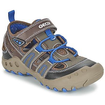 Schoenen Meisjes Sandalen / Open schoenen Geox J SAND.KYLE A Brown