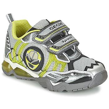 Schoenen Jongens Lage sneakers Geox J SHUTTLE B. B Grijs / Citroen
