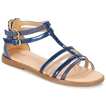 Schoenen Meisjes Sandalen / Open schoenen Geox J S.KARLY G. D Marine