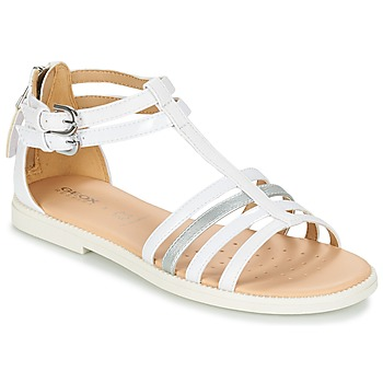 Schoenen Meisjes Sandalen / Open schoenen Geox J S.KARLY G. D Wit