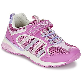 Schoenen Meisjes Lage sneakers Geox J BERNIE G. A Roze / LILA