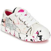 Schoenen Kinderen Lage sneakers Geox J CIAK G. D Wit / Roze