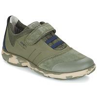 Schoenen Kinderen Lage sneakers Geox J NEBULA B. A Camo