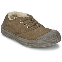 Schoenen Kinderen Lage sneakers Bensimon TENNIS FOURREES Brown