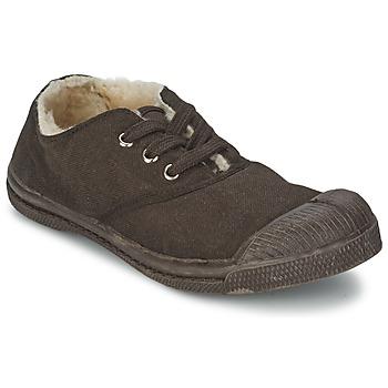 Schoenen Kinderen Lage sneakers Bensimon TENNIS FOURREES Chocolade