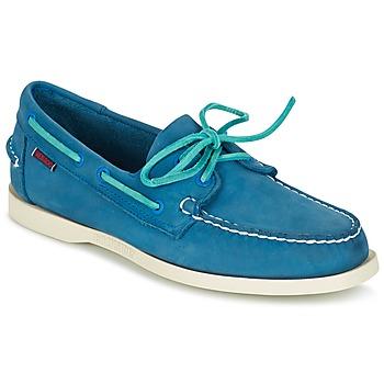 Schoenen Heren Bootschoenen Sebago DOCKSIDES Blauw