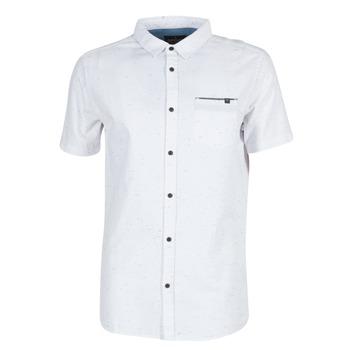 Textiel Heren Overhemden korte mouwen Rip Curl STARDUST Wit