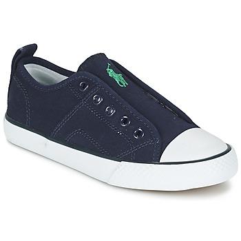 Schoenen Jongens Lage sneakers Ralph Lauren RYLAND Marine
