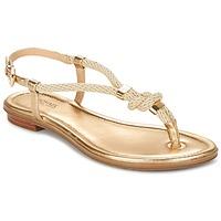 Schoenen Dames Sandalen / Open schoenen MICHAEL Michael Kors HOLLY Goud