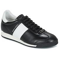 Schoenen Heren Lage sneakers Roberto Cavalli 2042A Zwart / Wit