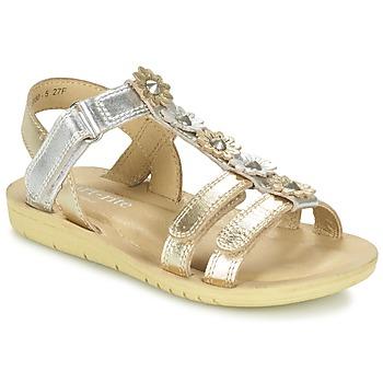 Schoenen Meisjes Sandalen / Open schoenen Start Rite LUNA Goud