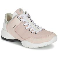 Schoenen Dames Lage sneakers Geox SFINGE A Roze