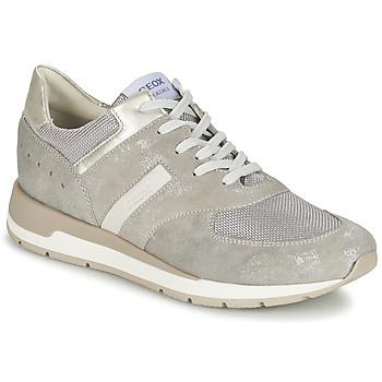 Schoenen Dames Lage sneakers Geox SHAHIRA A Grijs