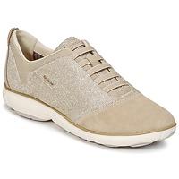 Schoenen Dames Lage sneakers Geox D NEBULA G TAUPE