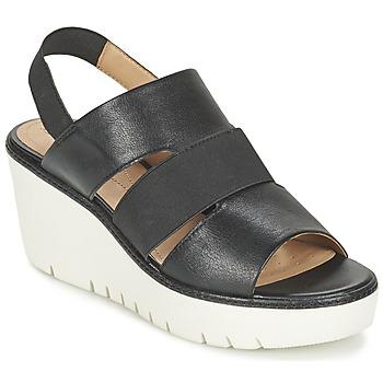 Schoenen Dames Sandalen / Open schoenen Geox D DOMEZIA B Zwart